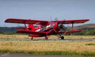 Air Albatros - Antonov AN-2 - D-FKMB - Dortmund Airport (29/07/2018)