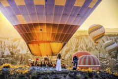 Cappadocia in Turkey (Nejdet Duzen) Tags: adventure air anatolia ancient ballon balloon balloons baloon beautiful best capadocia cappadocia color colorful destination fairy famous flight fly formation goreme great hdr hill holiday hot kapadokya landmark landscape mountain national nature nevsehir outdoor over people photographer recreation rock sky spectacular sport takeoff tourism tourist travel turkey vacation valley world