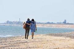 Looking towards Southwold (Bury Gardener) Tags: england eastanglia uk britain suffolk snaps 2018 nikon nikond7200 coast coastal seaside covehithe beach