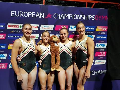 Flickr photoset: Europees kampioenschap Toestelturnen meisjes