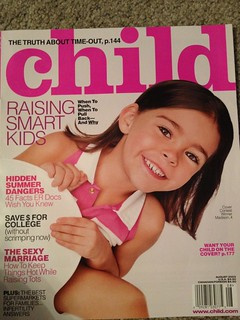 Madison Beer Child Magazine Cover