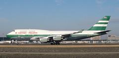 B747 | VR-HOP | AMS | 19900210 (Wally.H) Tags: boeing 747 boeing747 b747 vrhop cathaypacificairways ams eham amsterdam schiphol airport