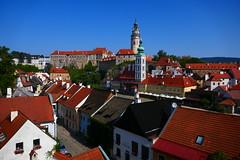 Rooftops (Jungle_Boy) Tags: czechia czechrepublic ceskykrumlov českýkrumlov europe centraleurope easterneurope travel 2018