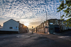 _DSC.0085 - Parliament Street, Burnley (SWJuk) Tags: burnley england unitedkingdom swjuk uk gb britain lancashire parliamentstreet street town urban home sunrise sun sunlight 2018 aug2018 summer nikon d90 nikond90 tokina1116 rawnef lightroomclassiccc
