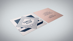 Square Size Business Card (hazari_design) Tags: square business card stationary hazaridesign shajalalhazari1 branding