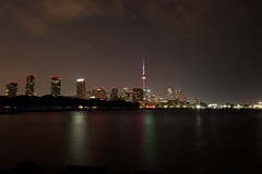 From across the way (Kobie M-C Photography) Tags: cntower toronto ontario canada cityscape nightscape urban buildings naturallight architecture reflection