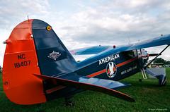 Stinson Reliant (dpsager) Tags: 2018 airventure dpsagerphotography eaa eaaoshkoshairshow eos1v film fujisuperia100 oshkosh wisconsin aircraft airplane airshow stinsonreliant osh18