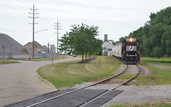 NS Local (Fan-T) Tags: ns fpe bo fairport harbor ohio local gp38 urban industrial 5183