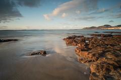 My beach / Mi playa (Leticia Lorenzo S Photography) Tags: 2018 canaryisland lascanteras beach canarias clouds longexposure sand sky sunset