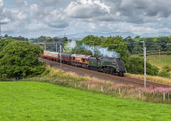 50th Anniversary of the end of mainline steam on British Railways 11-8-2018 (KS Railway Gallery) Tags: 50th anniversary end mainline steam a4 docker