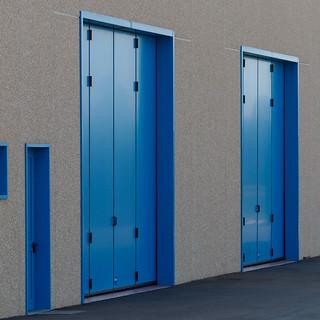 Blu industriale N.3. Industrial blue N.3 ( Industrial countryside)
