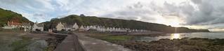 Panoramic view of Pennan
