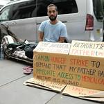 On hunger strike to save his Dad. thumbnail