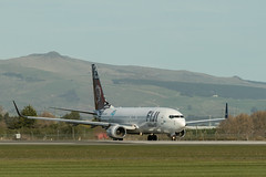 20180816_4397_7D2-200 Fiji Airways Boeing 737 DQ-FJM turning onto runway #02 (228/365) (johnstewartnz) Tags: dqfjm mamanucaislands fijiairways boeing boeing737 737 73786j fj450 chc christchurch christchurchinternationalairport canon canonapsc apsc eos 7d2 7dmarkii 7d canon7dmarkii canoneos7dmkii canoneos7dmarkii 70200mm 70200 70200f28 228365 day228 onephotoaday oneaday onephotoaday2018 365project project365