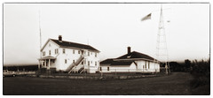 Coast Guard Station, Grand Marais, MN (jkcampbell18) Tags: pinhole monochrome mottweiler p902