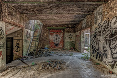 007 Filature Nouvelle Orléans (BE) 2018 (John JoBo) Tags: urbanexploring urbex urbandecay ue urban grafitty filaterie streetart roa