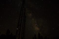 DSC05912 (Ryan Strickhouser) Tags: leadville colorado co boom days stars galactic center power lines trees