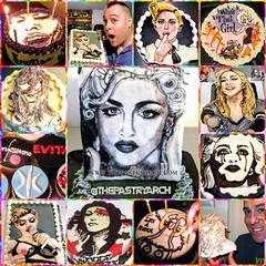 Happy 60th Birthday Madonna! #cakes (The Pastryarch) Tags: madonna happy birthday 60th cake cakes baking baker dessert food chocolate art