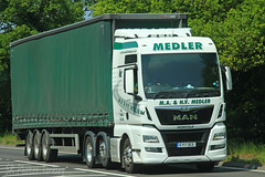 MAN MA & HV Medler EY17 DCE (SR Photos Torksey) Tags: transport truck haulage hgv lorry lgv logistics freight road commercial vehicle traffic man medler