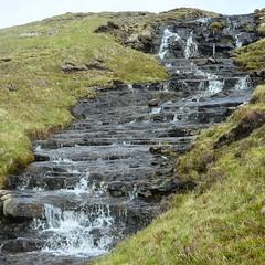 Running water (mikael_on_flickr) Tags: runningwater vagar trekking føroyar færøerne faroeislands isolefaroe natur natura nature waterfall wassertreppe miðvágur is beautiful faroe islands