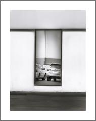 Reflections, Las Vegas, NV (Vincent Galassi) Tags: reflections cars las vegas nv black white abstract