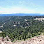 Crater Lake: South view of the road thumbnail