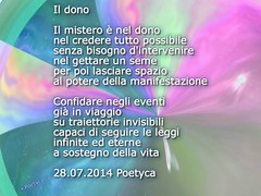 Il dono (Poetyca) Tags: featured image sfumature poetiche poesia