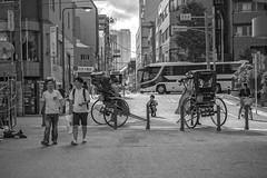 TOURIST AND THE TRASH MAN (ajpscs) Tags: ©ajpscs ajpscs japan nippon 日本 japanese 東京 tokyo city people ニコン nikon d750 tokyostreetphotography streetphotography street seasonchange summer natsu なつ 夏 2018 shitamachi night nightshot tokyonight nightphotography citylights tokyoinsomnia strangers urbannight attheendoftheday urban othersideoftokyo walksoflife tokyoscene anotherday dayfadesandnightcomesalive monochromatic grayscale monokuro blackwhite blkwht bw blancoynegro localtourist