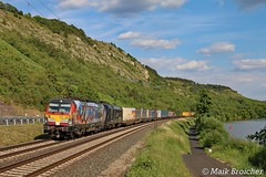 """X4E-640 TXL """"Connected by Rail"""" mit ES64U2-012 TXL in Gambach am 29.06.2018 (Maik Bro) Tags:"""