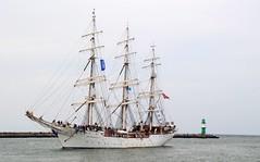 Christian Radich (♥ ♥ ♥ flickrsprotte♥ ♥ ♥) Tags: segelschiff christianradich schulschiff wasser ostsee hansesail rostock warnemünde 2018 nikon