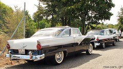 1956 Ford Fairlane Club Sedan & 1955 Ford Fairlane Crown Victoria (RealCarsCH) Tags: ford fairlane club sedan crown victoria 1956 1955
