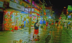 Street art (Rajavelu1) Tags: streetphotography streetart candidstreetphotography colourstreetphotography streetscenes lowlightstreetphotography nightstreetphotography handheldnightphotography handheld dslr art creative guruyayur kerala india artdigital