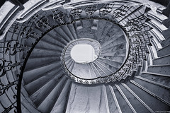Seaton Delaval Hall stairs (neilgcart) Tags: architecture building england europe hall historicalbuilding nationaltrust northumberland seatondelavalhall seatonsluice unitedkingdom worldregionscountries ruin architecturaldetail stairs stairway concepts firedamaged 2018leamside events holiday people social gb