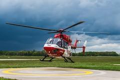 DRF Luftrettung HSD D-HDDD (U. Heinze) Tags: aircraft haj hannoverlangenhagenairporthaj hubschrauber helicopter eddv planespotting nikon