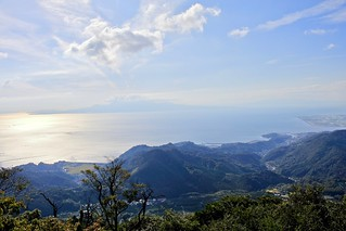 Kumamoto view from Mt Kinbo
