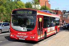 Volvo B7L Wright Eclipse (DennisDartSLF) Tags: norwich bus volvo b7l wright eclipse vw916 easterncounties first yg02dku