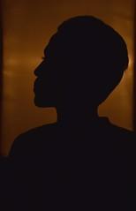 Portrait (Maria.Alnomer) Tags: portrait portraitphotography man sideview studio studiowork studiophotography silhouette nikon nikond5600 d5600 damascus syria