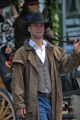 Western Style (Scott 97006) Tags: outfit guy man parade clothes hat wave vest