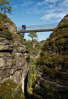Bridge between Rocks
