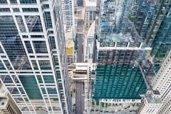 Clark Street Canyon (jeff_a_goldberg) Tags: aerialphotography summer chicagoskyline dji mavic chicago loop drone djimavicpro mavicpro skyline illinois unitedstates us