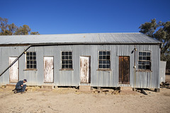 Looking for Old Botttles (oz_lightning) Tags: australia canon6d canonef1635mmf4lis dunlopstation nsw people westerndivision agriculture building decay outback rural louth newsouthwales aus