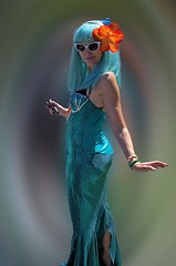 Mermaid Dress (Scott 97006) Tags: woman female lady costume mermaid fun outfit