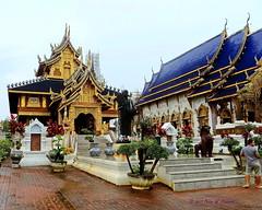 "Wat Den Sa-Ree Sri Muang Gaen. (ol'pete) Tags: วัดเด่นสะหรีศรีเมืองแกน watdensareesrimuanggaen"" พุทธกาลนิชน buddhist temple wat เชียงใหม chiangmai ""maetaeng"" ""อแม่แตง"" thailand ประเทศไทย เมืองไทย วัด canon ""powershot"" ""sx260hs"" earthasia"
