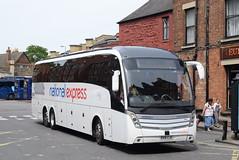 NX N15 @ Gloucester Green bus station, Oxford (ianjpoole) Tags: skills nottingham national express volvo b1rt caetanoa levnte bx16cju n15 gloucester green bus station oxford