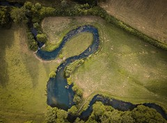 Ford (andrewmclean32) Tags: exploring walking wiltshire ford farm winding uk england aerial stream landscapes landscape countryside djimavicpro drones drone