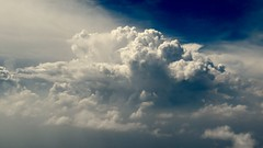 Anvil head forming (wlemieux) Tags: anvilhead thunderstorm clouds