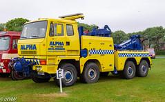 Scammell/Leyland S26 Heavy Recovery J291MTN Alpha Recovery (LVNWtransFoto) Tags: canoneos1dmkiv tyneteesrun hcvs southshields bentspark transport vehicle rally leyland heavyrecovery j291mtn alpha truck lorry breakdown scammell s26