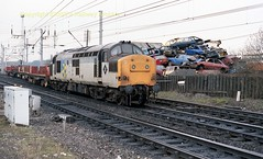 Mossend 37201 29mar89 c105 (Ernies Railway Archive) Tags: mossendyard cr lms scotrail