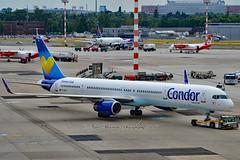 Ex N757X B753 Prototype Airframe. Condor D-ABOA Boeing 757-330 Winglets cn/29016-804 @ EDDL / DUS 18-06-2017 (Nabil Molinari Photography) Tags: ex n757x b753 prototype airframe condor daboa boeing 757330 winglets cn29016804 eddl dus 18062017