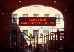 Garden Of Earthly Delights - Leeds (Tony Worrall) Tags: architecture building built update place location uk england north visit area attraction open stream tour country item greatbritain britain english british gb capture buy stock sell sale outside outdoors caught photo shoot shot picture captured leeds yorkshire yorks pub publichouse bar inn boozer doorway entrance gate gateway sign neon lights arch gardenofearthlydelights